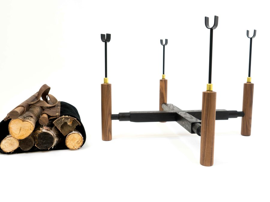 Firewood Carrier & Stand