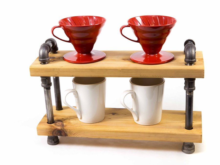 JW Iron and Wood_Pour Over Coffee Stand_8268