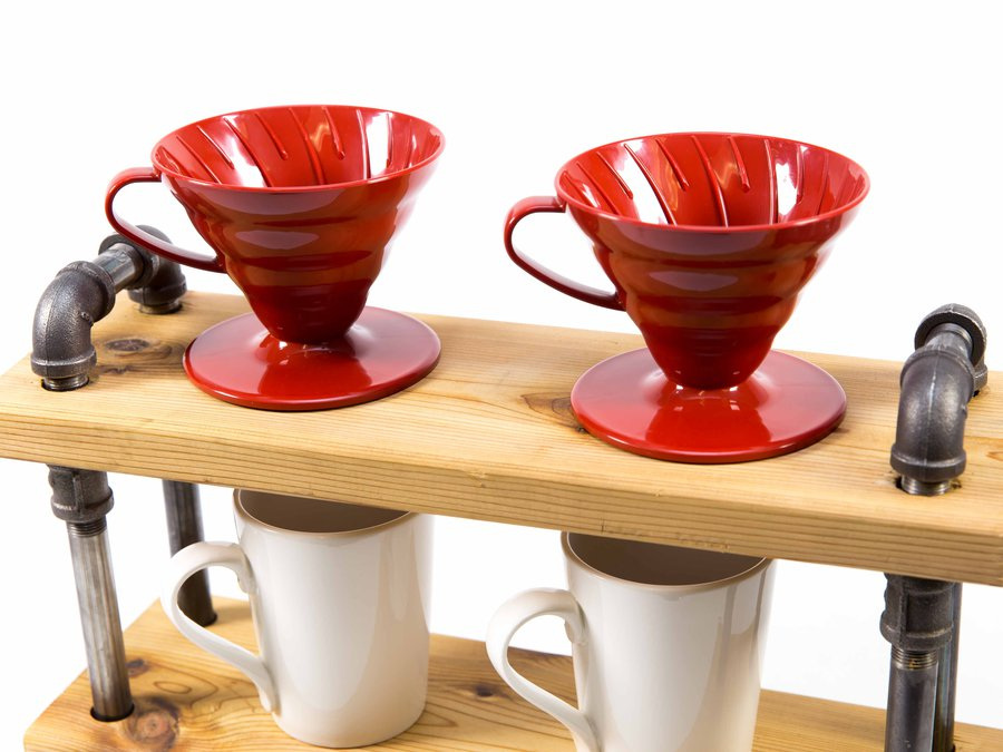 JW Iron and Wood_Pour Over Coffee Stand_8269