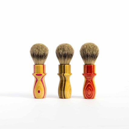 Karve Shaving Co_Skate Maple Shaving Brush_7865
