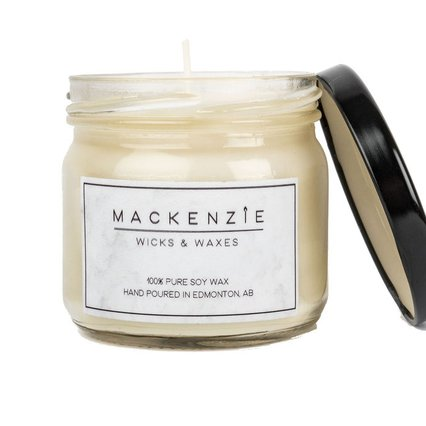 Mackenzie Wicks and Waxes_Soy Wax Candle