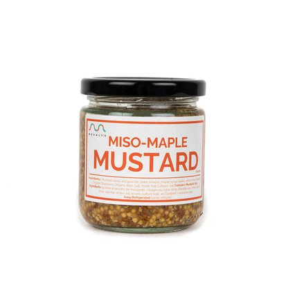 Meuwley's_Miso Maple Mustard