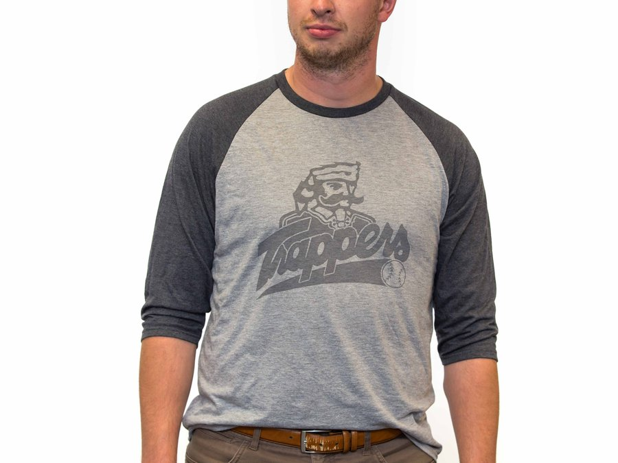 Ross Flats Vintage Apparel_Edmonton Trappers 96_97 Baseball Tee_9561
