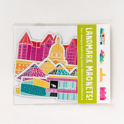 Stephanie Simpson_Edmonton Landmark Magnets