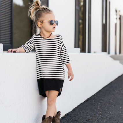 Taylor Tunic Dress_Mini Street Kidswear