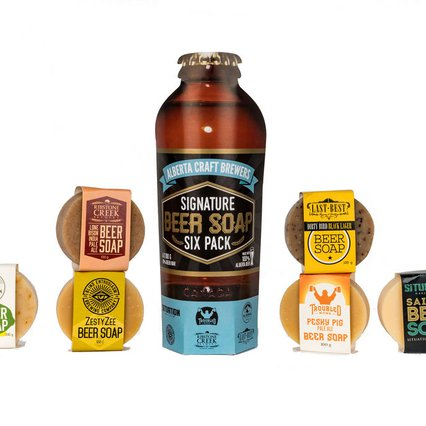 Wild Prairie Soap Company_Beer Soap Six Pack