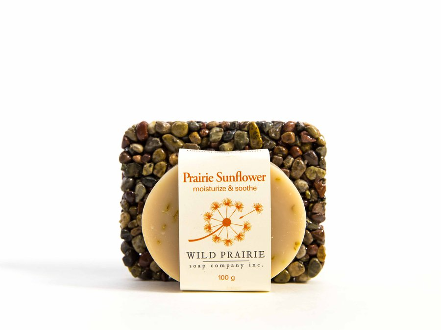 Wild Prairie Soap Company Inc_Stone Soap Plate Gift Set_7960