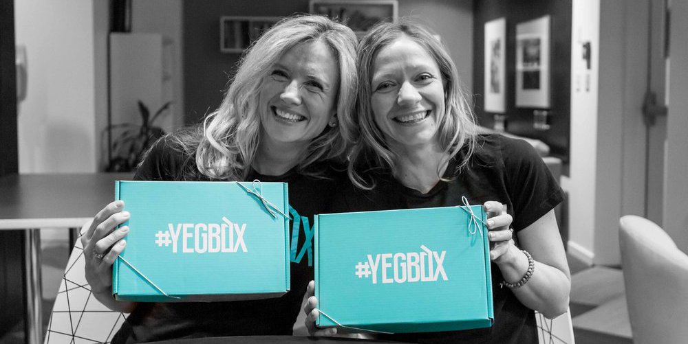 Yegbox and Edmonton Made Partner for the Holidays