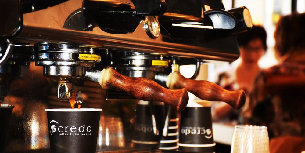Credo Coffee Background Image